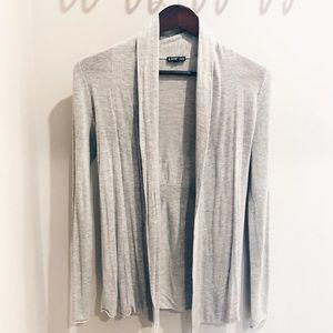 5/$25 Express Cardigan Gray w/ Cinched Waist XS ✨